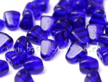 Matubo Czech Glass Beads NIB-BIT 6x5mm cobalt
