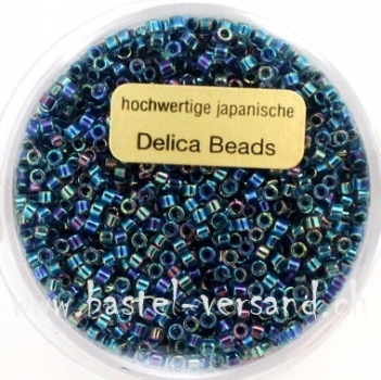 Delica Beads 2mm blue ab