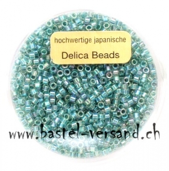Delica Beads 2mm turquoise ab