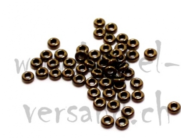 Toho Demi Round 8/0 gold lustered antique bronze