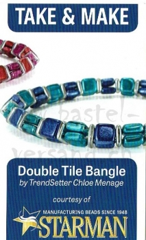 Anleitung Double Tile Bangle