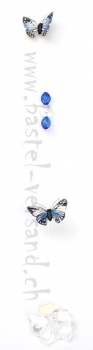 Girlande Schmetterling blau