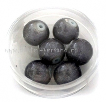 Miracle Bead 12mm dunkelgrau
