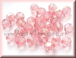 Facettenperle 8mm rosa