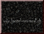 Delica Beads 2mm black matt