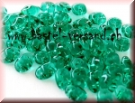 SuperDuo 2 x 5mm emerald