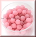 Glasperle 6mm rose matt