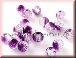 Crackle 6mm amethyst