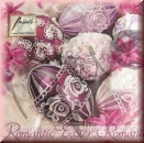 Serviette romantic easter